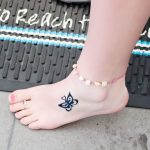 Adorable Small Ankle Tattoos For Women & Their Meaning